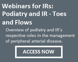Podiatry and IR
