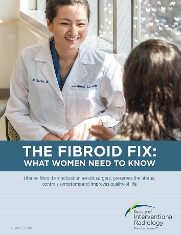 "<p class=""h3 headline3 mceListBoxMenu"">Quick links:</p> <ul class=""h4 headline4 mceListBoxMenu""> <li><a title=""The Fibroid Fix report"" href=""/link/8f927b938c524af9a32ebe597a9ae2d8.aspx"">Download a PDF of the report.</a></li> <li><a title=""fibroid patient checklist"" href=""/link/6370f9f407eb4e80b9276e409567dcca.aspx"">Download the fibroid checklist.</a></li> <li><a title=""data and resources"" href=""/link/c2dc8b7379604eef817a350caec06ad3.aspx"">Find additional resources and data.</a></li> <li><a title=""find a doctor"" href=""/link/cc534275406644ee9e82f5c93637e9a2.aspx"">Find a doctor.</a></li> <li><a title=""patient stories"" href=""/link/46816f46953044bbaece680c04f01769.aspx"">Hear from real women about the benfits of UFE</a>.</li> </ul>"