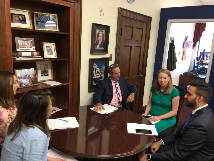 GLP meets with congressional staffers