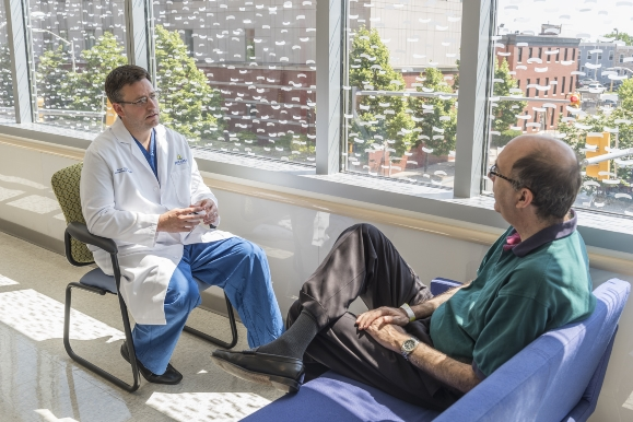 <p>If your doctor diagnoses you with enlarged prostate, ask about options for treatment. There are minimally invasive options, such as prostate artery embolization, that don't come with the risks of surgery.</p>
